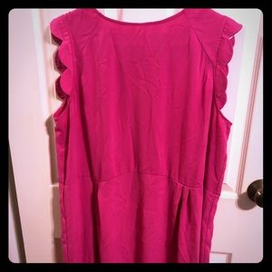 Hot Pink Knee Length Dress (A New Day)